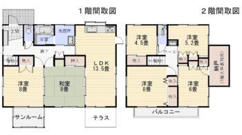 田代 中古住宅 間取図