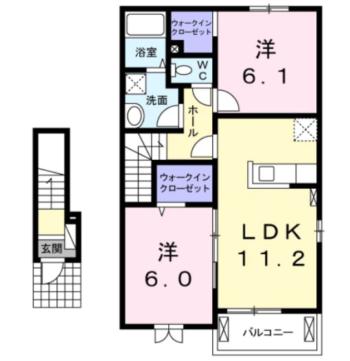 メゾン・MKⅠ 間取り図
